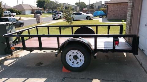 Texas Bragg trailer for sale