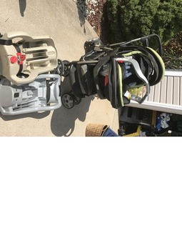 Graco car seat double stroller